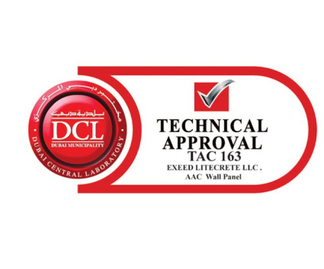 The Exeed LitePanel obtains DCLD, Dubai Municipality certification